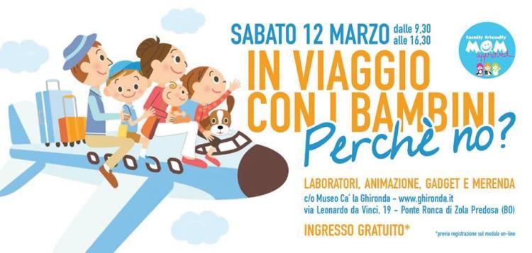 In viaggio con i bambini 12 marzo