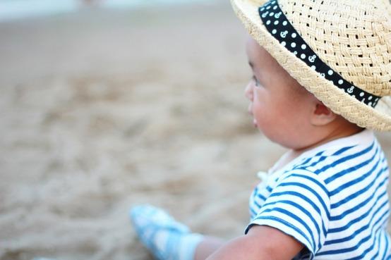 bimbi e sole cappello