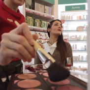 Lloyds Farmacia trucco Clarins Natale make up (12)